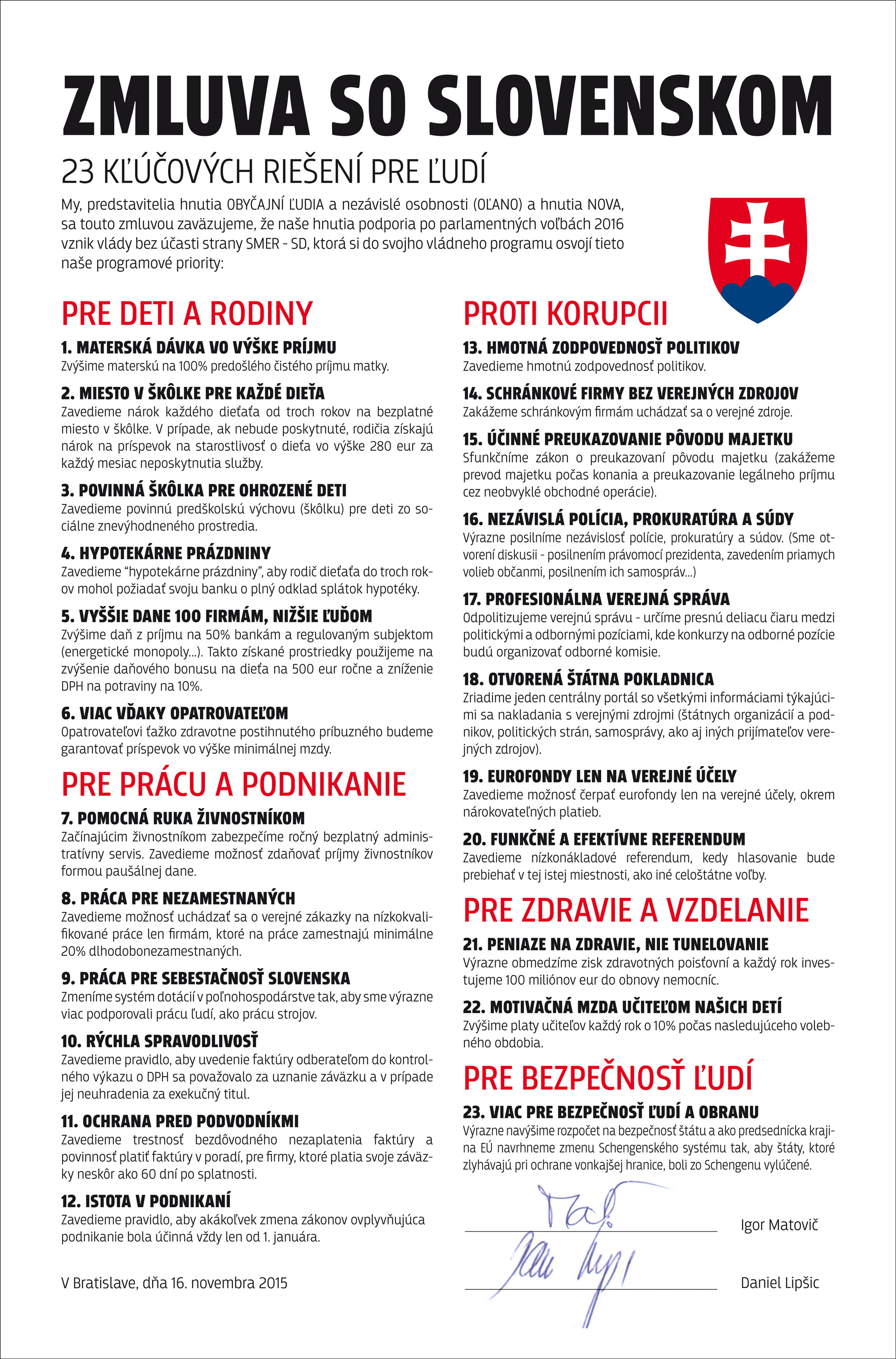 Zmluva so Slovenskom