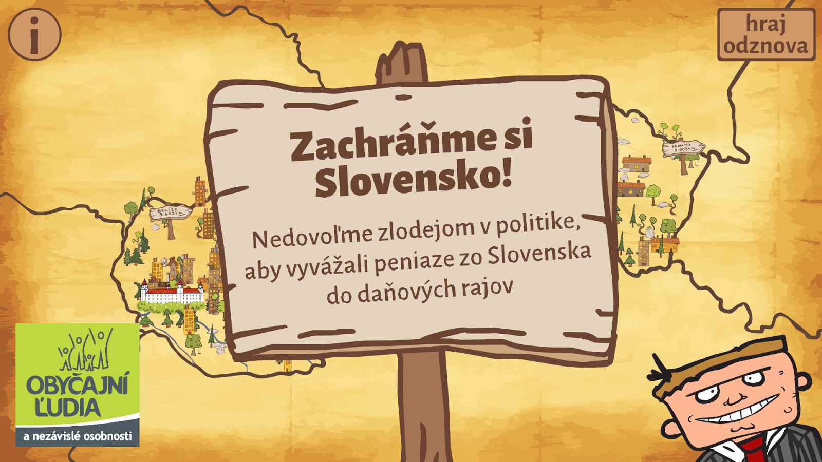 Zachráňme Slovensko